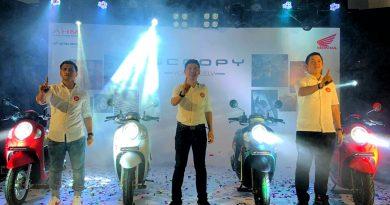 All New Honda Scoopy Virtual Launching Kaltim Honda