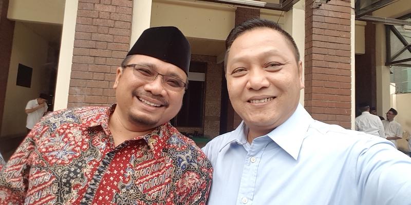 Yaqut Cholil Presiden Joko Widodo Ansor