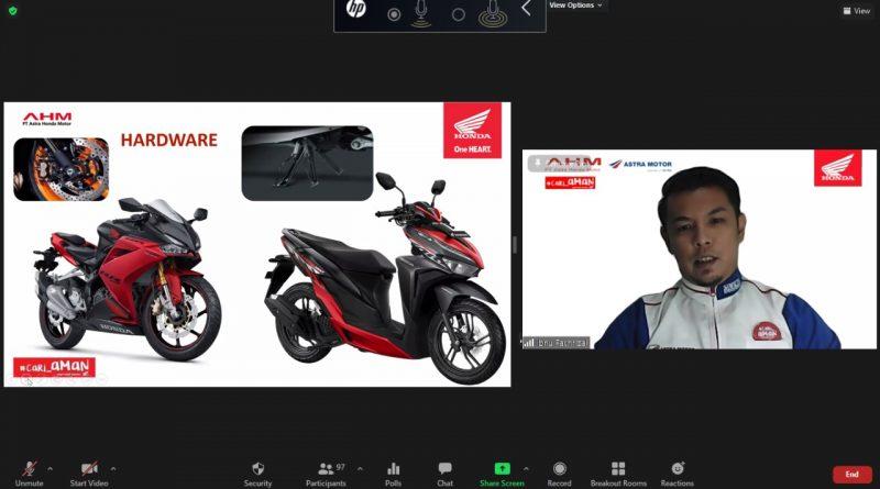 Safety Riding Astra Motor Kaltim 2 MAN 1 Ibnu Fachrizal Kaltim