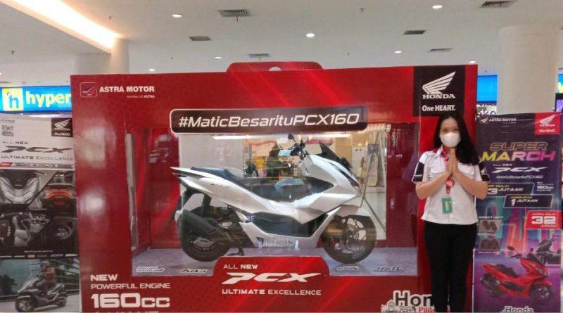 All New PCX 160 pameran big mall samarinda astra motor kaltim 2