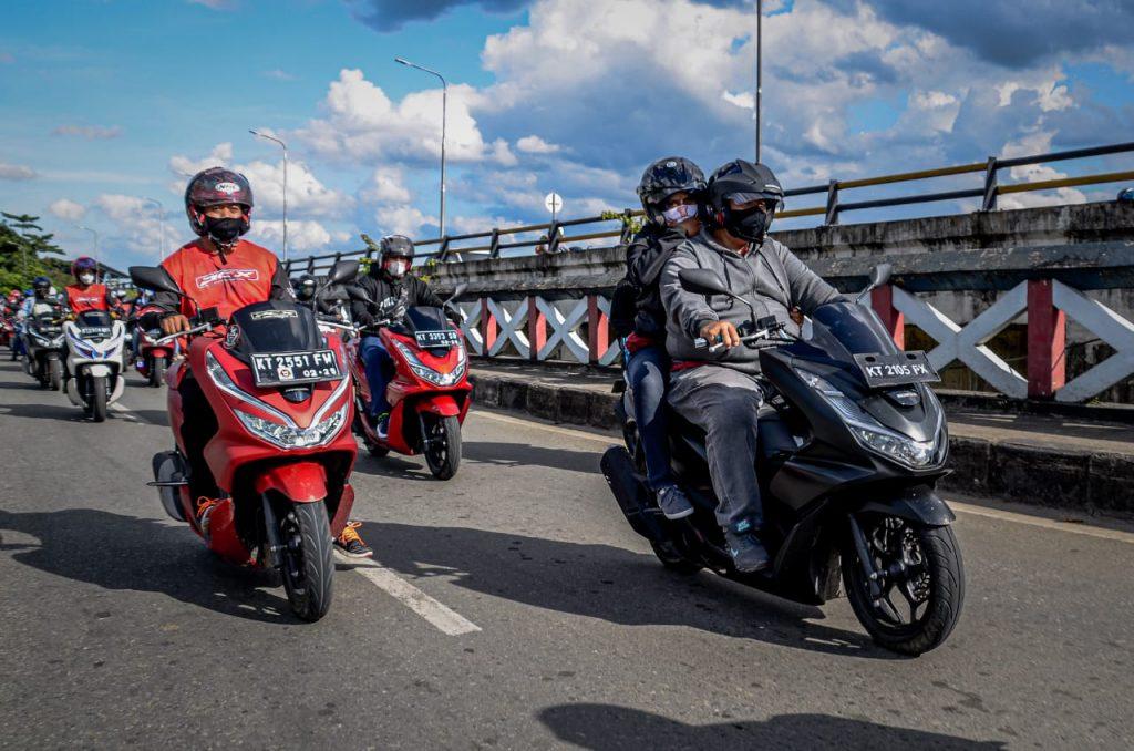 Honda PCX Scooter Ride Astra Motor Kaltim 2 Habar Kaltim.co.id