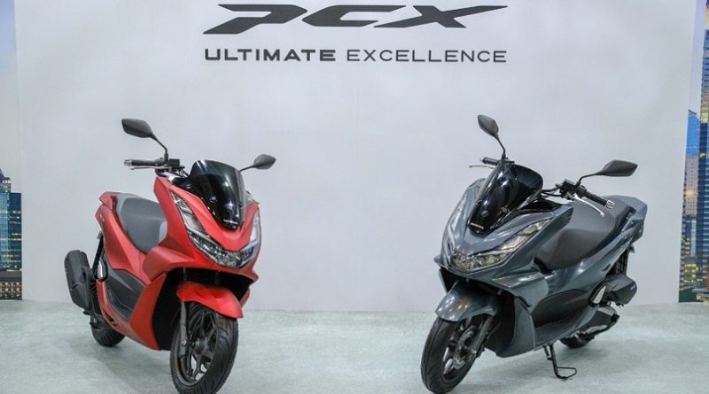 All New Honda PCX Skutik Premium Bike of The Year Astra Motor Kaltim 2