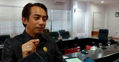 Pasar Baru Citra Mas Lok Tuan Rustam Ketua Komisi II DPRD Kota Bontang
