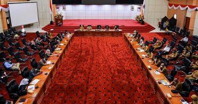 Raperda Amir Tosina DPRD Bontang Fraksi Gerindra-Berkarya