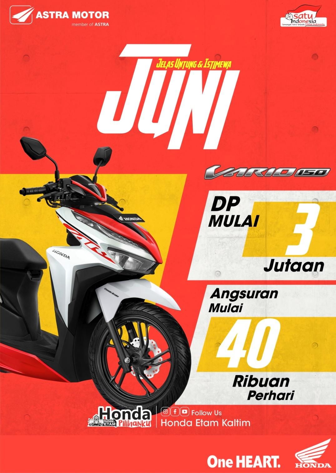 Promo Astra Motor Kaltim 2 Jelas Untung & Istimewa Juni