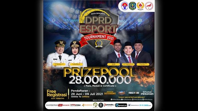 DPRD Esport Tournament DPRD Bontang